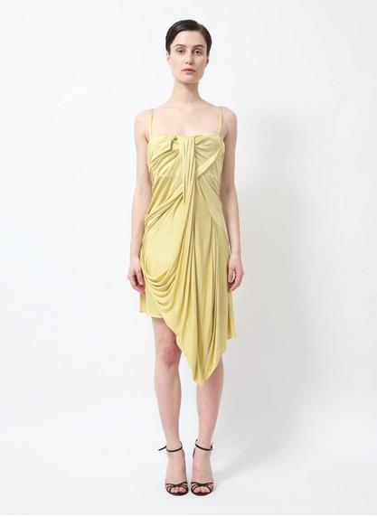 Robe Drapée bustier Christian Dior